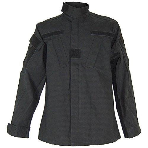 Teesar ACU Ripstop Combat Chemise Noir Taille XL