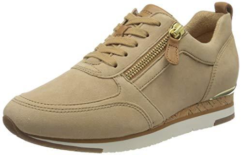 Gabor Shoes Gabor Jollys, Zapatillas Mujer, Beige (Caramel/Cognac 14), 41 EU