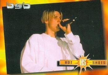 Nick Carter trading card Backstreet Boys 2000 WL #6