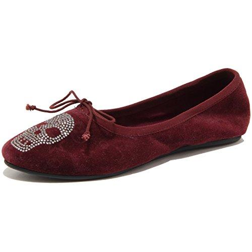 ASH 86659 Ballerina Joe Vintage Velvet Scarpa Donna Shoes Women [38]