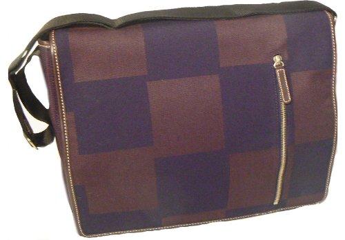 Acme Made Courier Notebooktasche (35,5 cm (14 Zoll) schwarz / braun