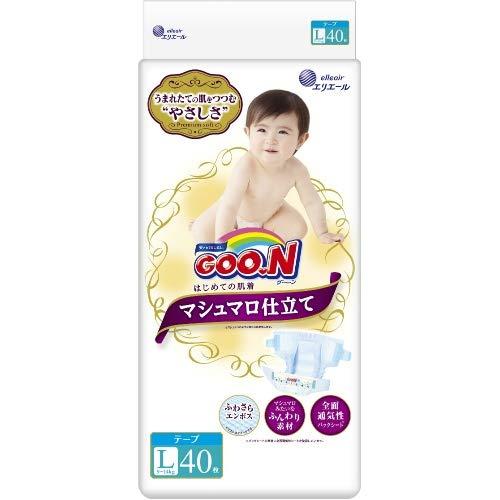 Japanische GOO.N L 9-14 KG MARSHMALLOW PREMIUM SOFT//Japanese diapers nappies - GOO.N L 9-14 KG MARSHMALLOW PREMIUM SOFT//Японские подгузники GOO.N L 9-14 KG MARSHMALLOW PREMIUM SOFT