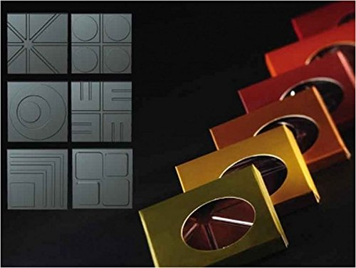 Purchase Thermoformed Chocolate Square Tablet Molds - Kit of 120 Molds and Colored Packaging - KT55