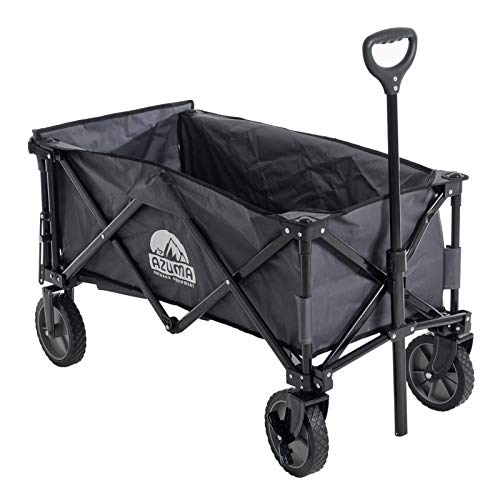 Folding Wagon XL Multi Purpose Heavy Duty Pull Along Cart Outdoor Trolley Garden...