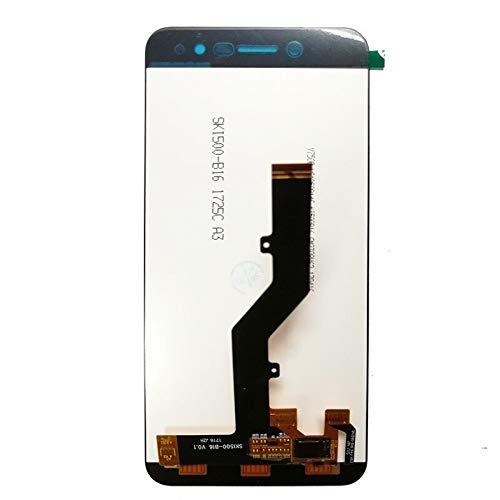 WYFDC Táctil LCD de Repuesto Fit For ZTE Blade A520 LCD + Pantalla táctil digitalizador de Replacment con el capítulo de ensamblaje del Panel de teléfono (Color : Black No Frame)