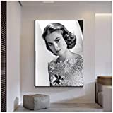 Tiiiytu Grace Kelly Home Decor HD-Druck Bilder Poster