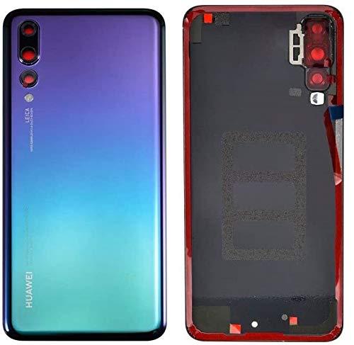 SPES Tapa de la batería, Parte Posterior, Cubierta de la batería para Huawei P20 Pro Twilight/lámina Adhesiva