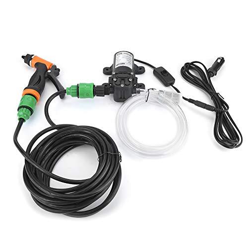 Bomba de lavado, limpieza de agua, limpieza de aire acondicionado de 12 V con ahorro de energía para limpieza de automóviles, limpieza del hogar, spray de jardín