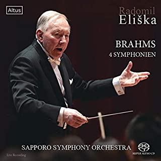 ブラームス : 交響曲全集 (Brahms : 4 Symphonien / Radmil Eliska | Sapporo Symphony Orchestra) [SACDシングルレイヤー] [Live Recording] [国内プレス]...