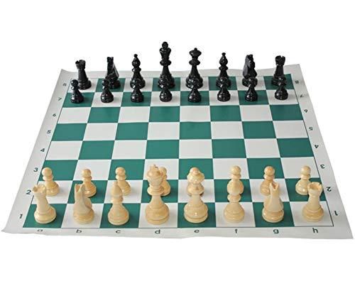 Juego de ajedrez Piezas De Ajedrez De Resina Con Juego Ajedrez Juegos 65/75/95mm Conjunto De Ajedrez Medieval Con 34 Cm / 42cm / 51cm Juegos De Tablero De Ajedrez Juegos De Ajedrez Conjunto Ajedrez de