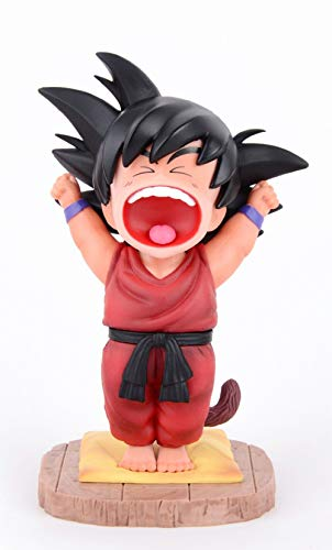 Dragon Ball Z Actions Figures GK Good Morning Goku Figure Statues Figurine Collection Birthday Gifts PVC 5 Inch DBZ (Good Morning Goku A)