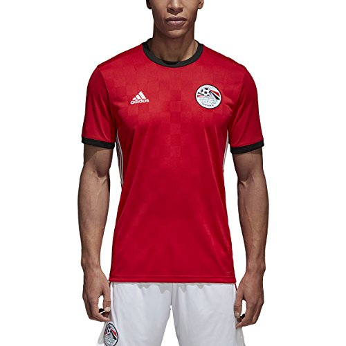 adidas Egypt Home Men's Soccer Jersey World Cup Russia 2018 (L) Red