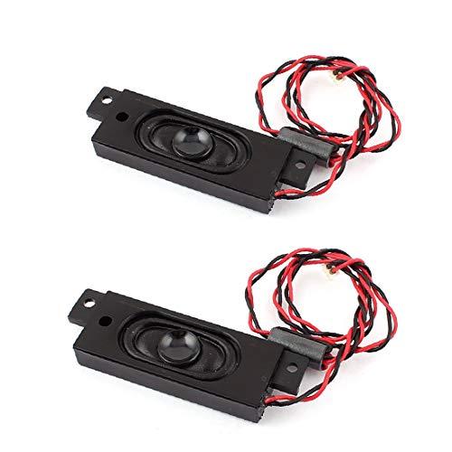 X-DREE 2pcs 2W 8 Ohmios Equilibrio Enchufe Rectángulo Imán Altavoz Amplificador (2pcs 2W 8 Ohm Balance Plug Amplificateur aimant Rectangle