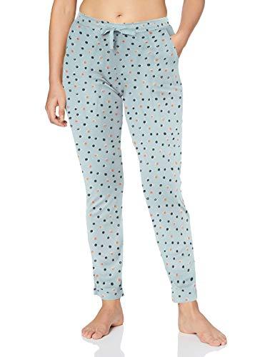 Schiesser Damen Mix & Relax Jerseyhose lang Pyjamaunterteil, Jade, 34