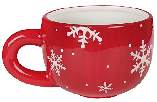 Santex Weihnachtstasse Jumbo Tasse BOL, 16,8 x 12,5 x 9 cm