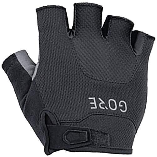 GORE WEAR C5 Short Finger Gloves, 5, Black
