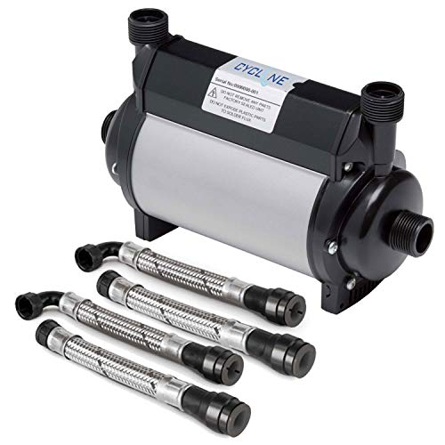 Arley Cyclone 1.5 Bar Twin Impeller Booster Shower Pump, Approved by WRAS, Manufactured in the UK, Designed to increase pressure and flow from normal domestic tank fed supplies.