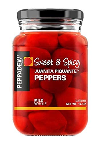 PEPPADEW Sweet & Spicy Mild Piquant Peppers, 14 Ounce