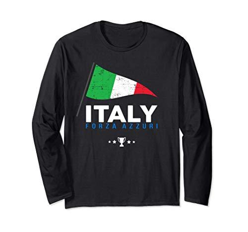 Italy Maglietta Calcio Nazionale Tiffosi Regalo 2020 2021 Maglia a Manica