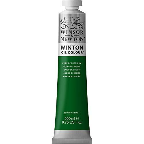 Winsor & Newton Winton - Pintura al óleo, color Verde (Oxide of Chromium), 200 ml