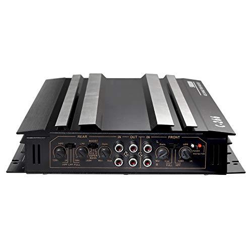 Amplificador de Audio Estéreo para Automóvil Amplifiacdor de Potencia 5800 W 2.1 CH 12V Amplificador Audio Coche Amplificador de Subwoofer 4 / 3 /2 Canales