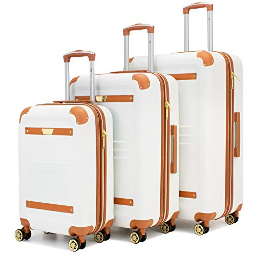 19V69 Italia 3-Piece Luggage Set on Amazon