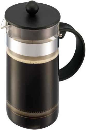 BODUM ボダム BISTRO NOUVEAU ビストロヌーヴォー フレンチプレス コーヒーメーカー 1L ブラック 【正規品】 1578-01