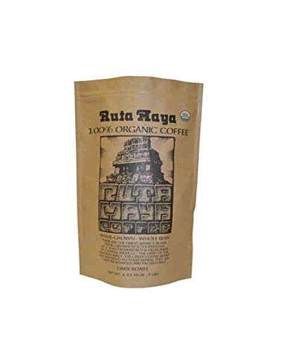 Ruta Maya Organic Dark Roasted Whole Bean Coffee