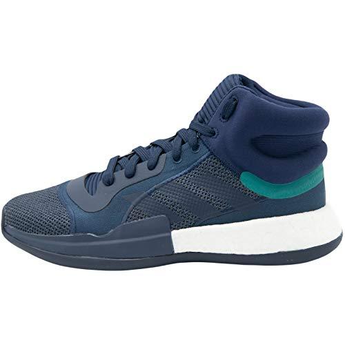 Zapatilla de Baloncesto Adidas Marquee Boost (46 EU, Azul)