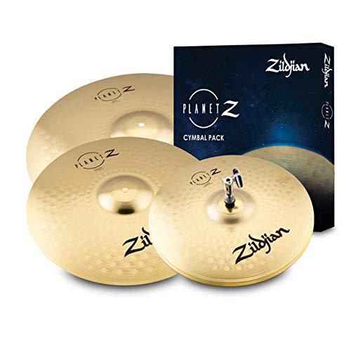 Zildjian Planet Z Complete Cymbal Pack, 14' pair, 16', 20' (ZP4PK)
