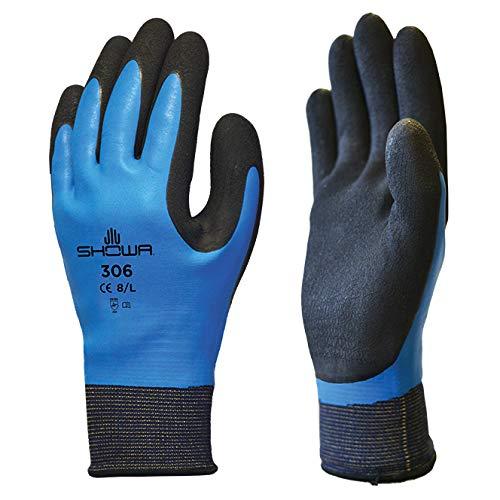 5 Paires de Showa 306 revêtement déperlant Latex Grip Gants de travail-taille XL