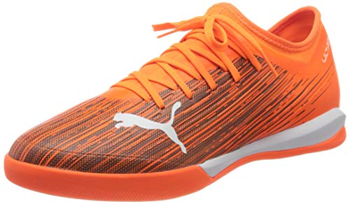 PUMA Ultra 3.1 IT, Zapatillas de Fútbol Hombre, Naranja (Shocking Orange Black), 36 EU