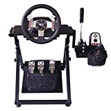 Xfeagle Tilt Adjustable Steering Racing Wheel Stand for Logitech G29 Gaming Wheel- Supporting G920 G27 G25 Thrustmaster T500RS, T300RS, TX Ferrari F458 Fanatec PS4 Xbox PC