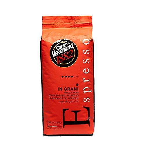 Caffè Vergnano 1882 Espresso Ganze Bohnen, 1er Pack (1 x 1 kg)