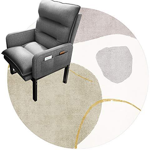 cojín de la silla redonda Tapetes Para Sillas De Oficina Para Pisos Alfombrados, Tapetes Para Sillas De Oficina, Tapetes Redondos, Tapetes De Protección Profesional Para Piso(Size:180cm(70in),Color:A)