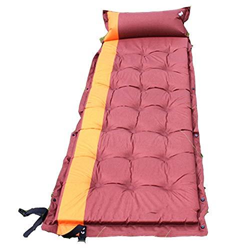 YYHSND Estera de Dormir colchoneta de Aire automática Estera de Costura Doble Acampar al Aire Libre Tienda de campaña for Dormir Estera for Dormir Bolsa de Dormir (Color : Yellow)