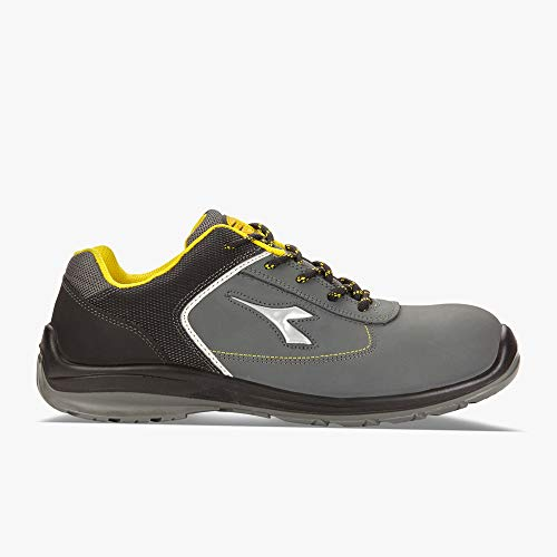 Diadora Utility 701.172031 Blitz Low S3 SRC - Zapatos de seguridad bajos, color gris, talla 36
