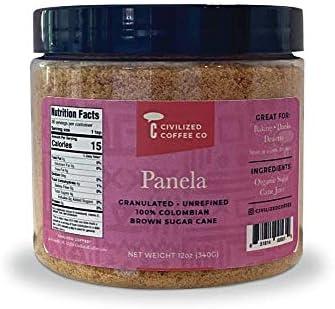 Civilized Coffee Panela Molida Traditional Unrefined Natural Brown Sugar Granules 12 oz product image