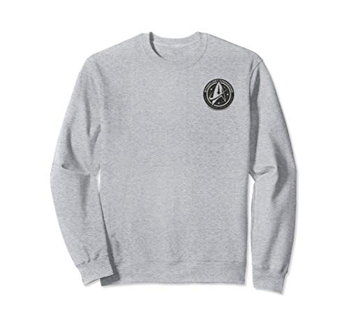 Star Trek Discovery Black Federation of Planets Badge Sweatshirt