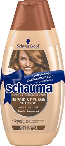 SCHWARZKOPF SCHAUMA Shampoo, 2er Repair & Pflege, 1er Pack (1 x 800 ml)