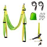 Sotech Yoga Swing, Yoga Hammock/Trapeze/Sling Kit, with 2...