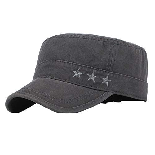 Demarkt Herren Baseball Caps Army Military Flat Cap Sonnen Sport Kappe
