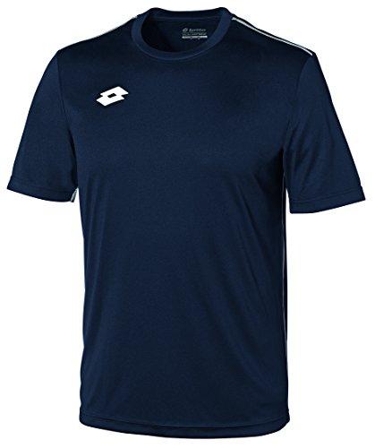 Lotto Jersey Delta Camiseta de Fútbol, Hombre, Azul (nvy/Wh