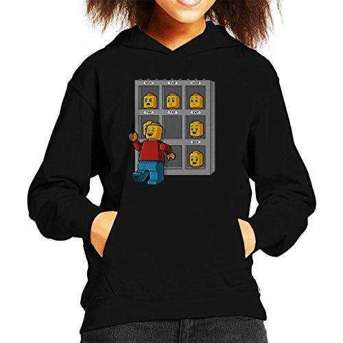 Lego Friday Face Kid's Hooded Sweatshirt