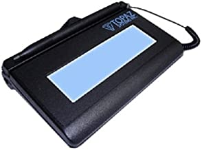 Topaz T-LBK460SE-HSB-R 1x5 Backlit LCD Signature Capture Pad - USB Connection (Higher Speed Version) photo