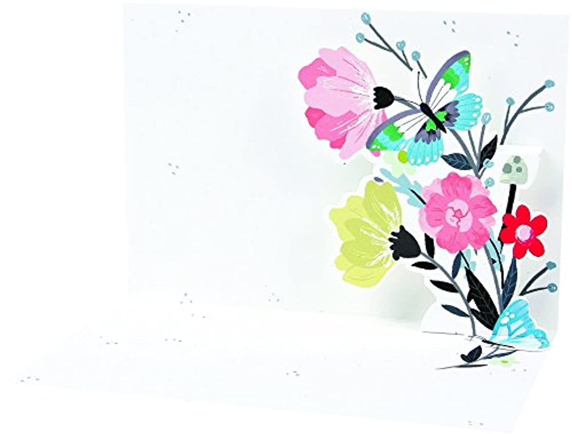UWP LUXE BN104 Forest Bouquet Boxed Notes 5.5