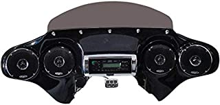 Hoppe Industries HDFFWQZCHRHC Quadzilla Fairing with Stereo Receiver
