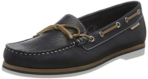 Marc O'Polo Damen 00215713101100 Segelschuhe, Blau (Navy 890), 40 EU