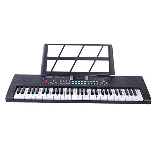 ANNA SHOP 61key Piano Kinder Keyboard Kinder Keyboard Klavier Keyboard Anfänger mit Karaoke Mikrofon