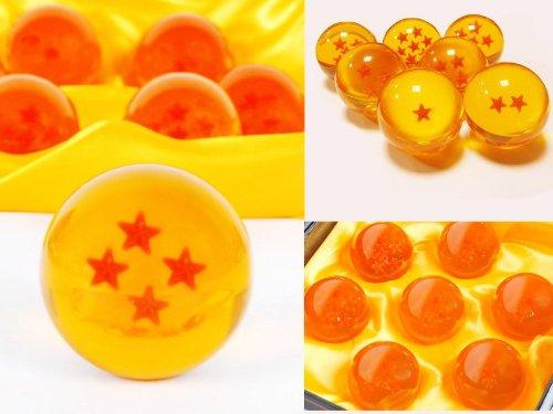 Les 7 boules de cristal pour fan de Dragon Ball Z